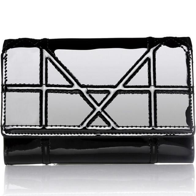 Genuine Leather Clutch Coin Purse Card Holder Money Bag For Women