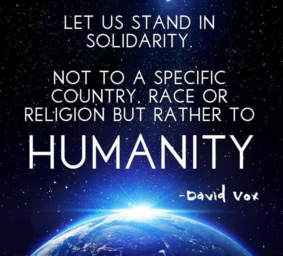 Humanity Peace And Love Quotes