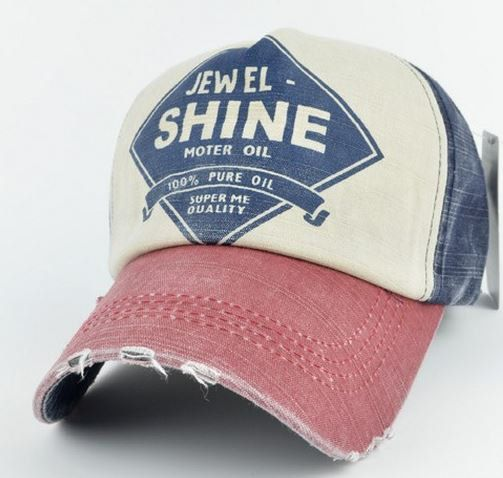 b7a12393 Jewel Shine Distressed Trucker Hat This adjustable size distressed trucker  cap is a fun way to start the summer.