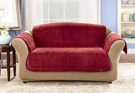 Sure Fit Slipcovers Deluxe Pet Cover Loveseat Pet Throw