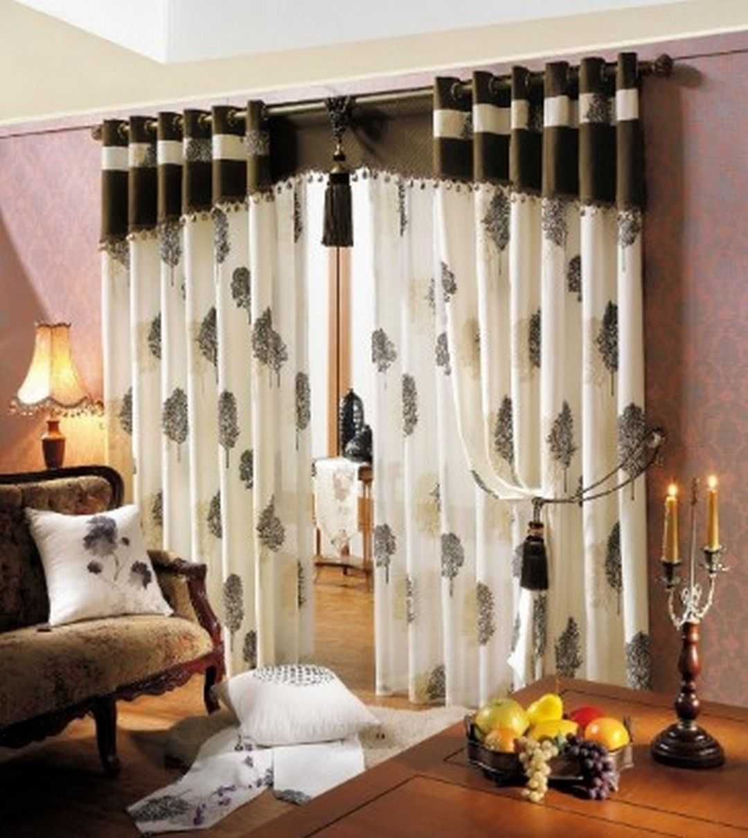6 Home Decor With Awesome Curtains Home Decor Curtain Designs Drapery Designs