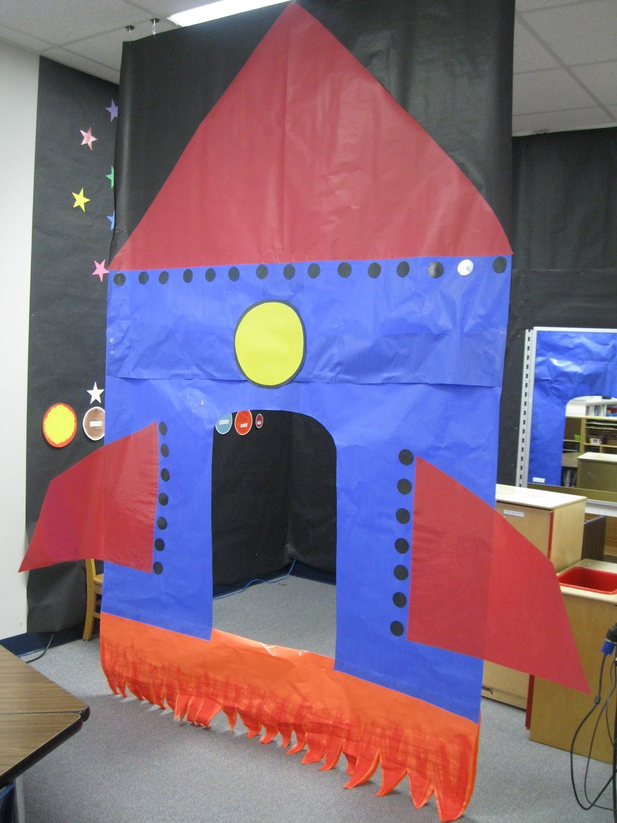 Kindergarten Rocks Blasting Off My Rocket Reading Area