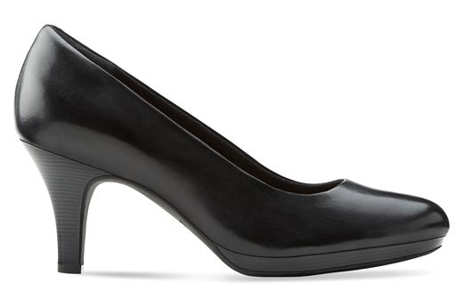 TEMPT APPEAL Black Leather Leather - 926062332 » Clarks Canada clarks
