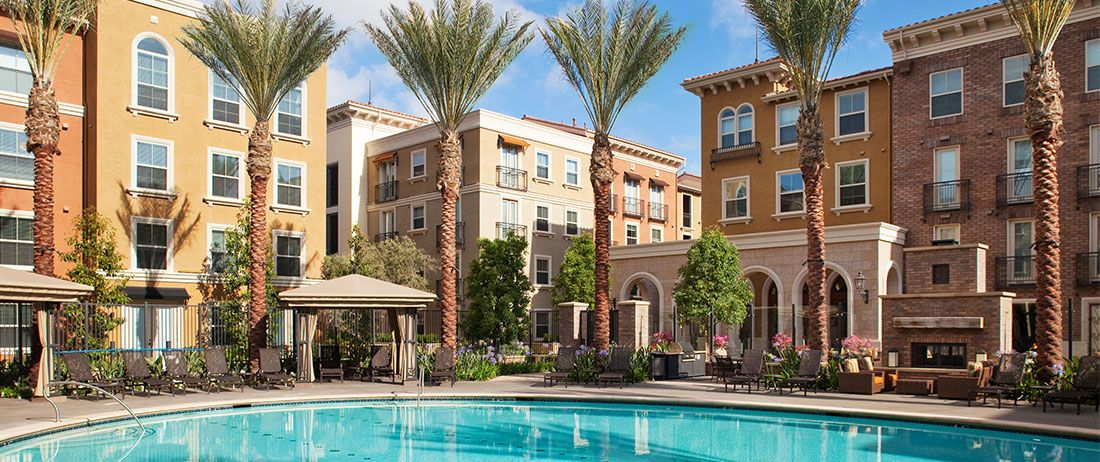 Luxurious Swimming Pool At The Park Irvine Spectrum Center Epitome Of Resort Living In Southern California