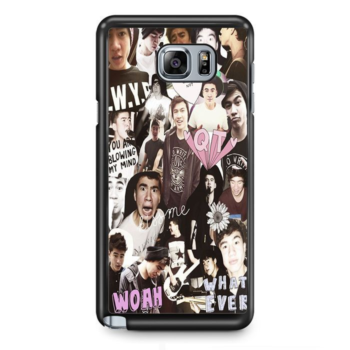 Calum Hood Collage Samsung Phonecase For Samsung Galaxy Note 2 Note 3 Note 4 Note 5 Note Edge