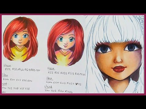 Tutorial Copic Markers - PART TWO How to choose your colors ...