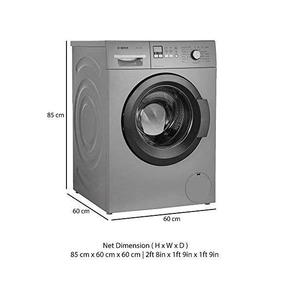 Bosch 65 Kg Fully Automatic Front Loading Washing Machine Wak20166in Titanium Bosch Washing Machine Washing Machine Front Loading Washing Machine