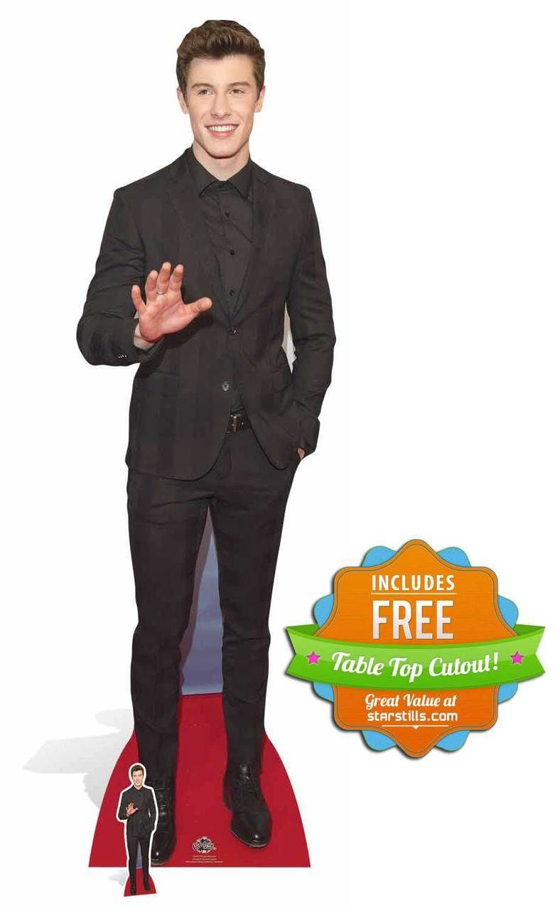 Shawn Mendes Lifesize Cardboard Cutout Standee Standup Cardboard Cutout Shawn Mendes Mendes