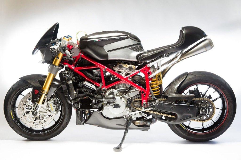 The Story Of Scarlett Ducati Net Ducati 749 Cafe Racer Ducati