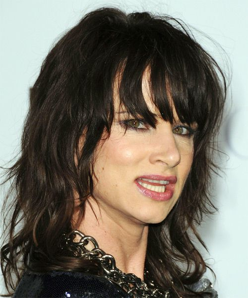 Juliette Lewis Long Wavy Casual Hairstyle | Hair makeup and Hair style