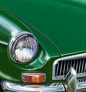 liking the kelly green paint job british sports cars mg cars british motors liking the kelly green paint job