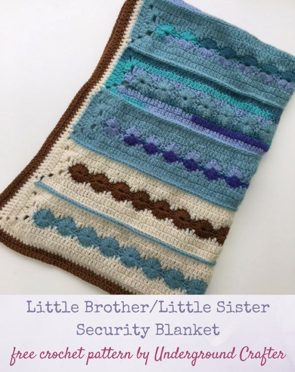 Crochet Pattern Little Brother Little Sister Security
