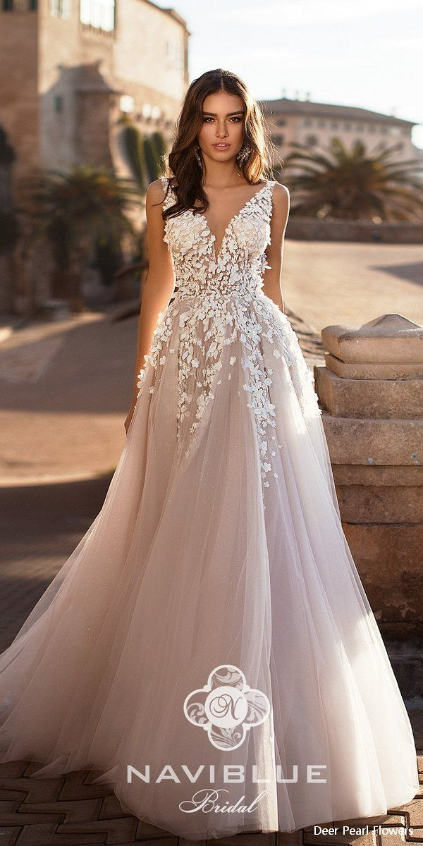 Navi Blue 2019 Wedding Dress #dresses #weddings #weddingideas #weddingdresses #laceweddingdresses