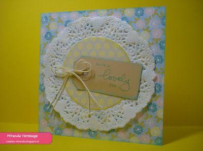 Miranda's Creaties: World Card Making Day