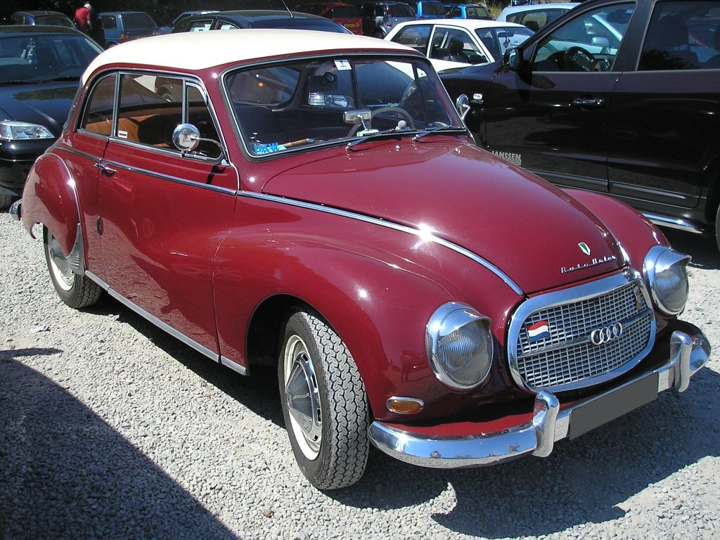 AutoUnion (DKW) 1000 (registered 1965) right - Auto-Union ...