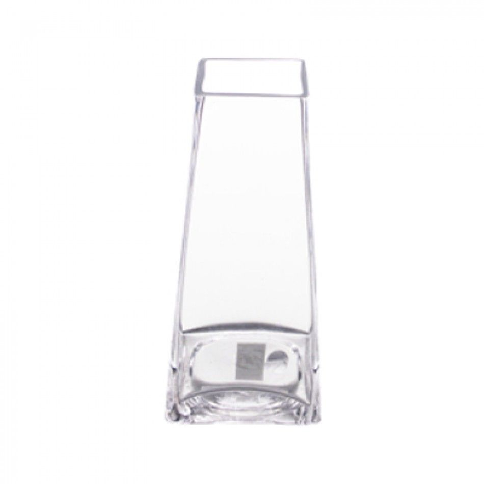 Taper Up Clear Glass Vase (Case of 12 = $6.92/Vase) [GCB016 Taper Up ...
