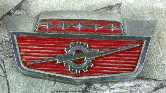 Vintage 1966 Ford F100 Hood Emblem Solid by ChaseyblueVintage