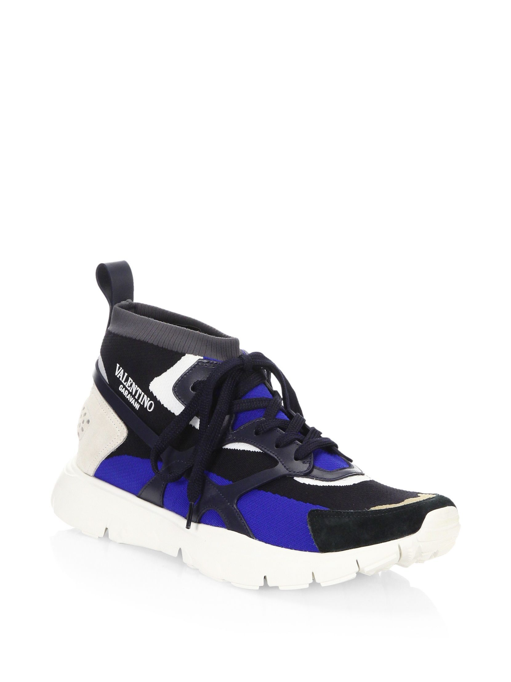 Read more Multicolor Valentino Garavani Sound High-Top Sneakers