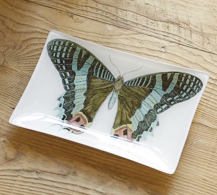 Bird & Butterfly Decoupage Trays