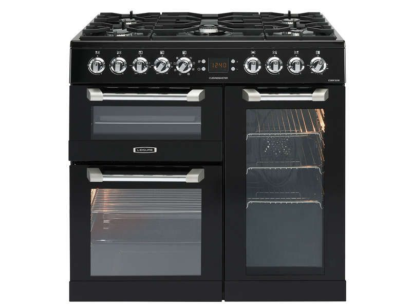 site réputé 6ae1f 66fcc Cuisinière mixte 90 cm LEISURE CS90F320K | Conforama | Piano ...