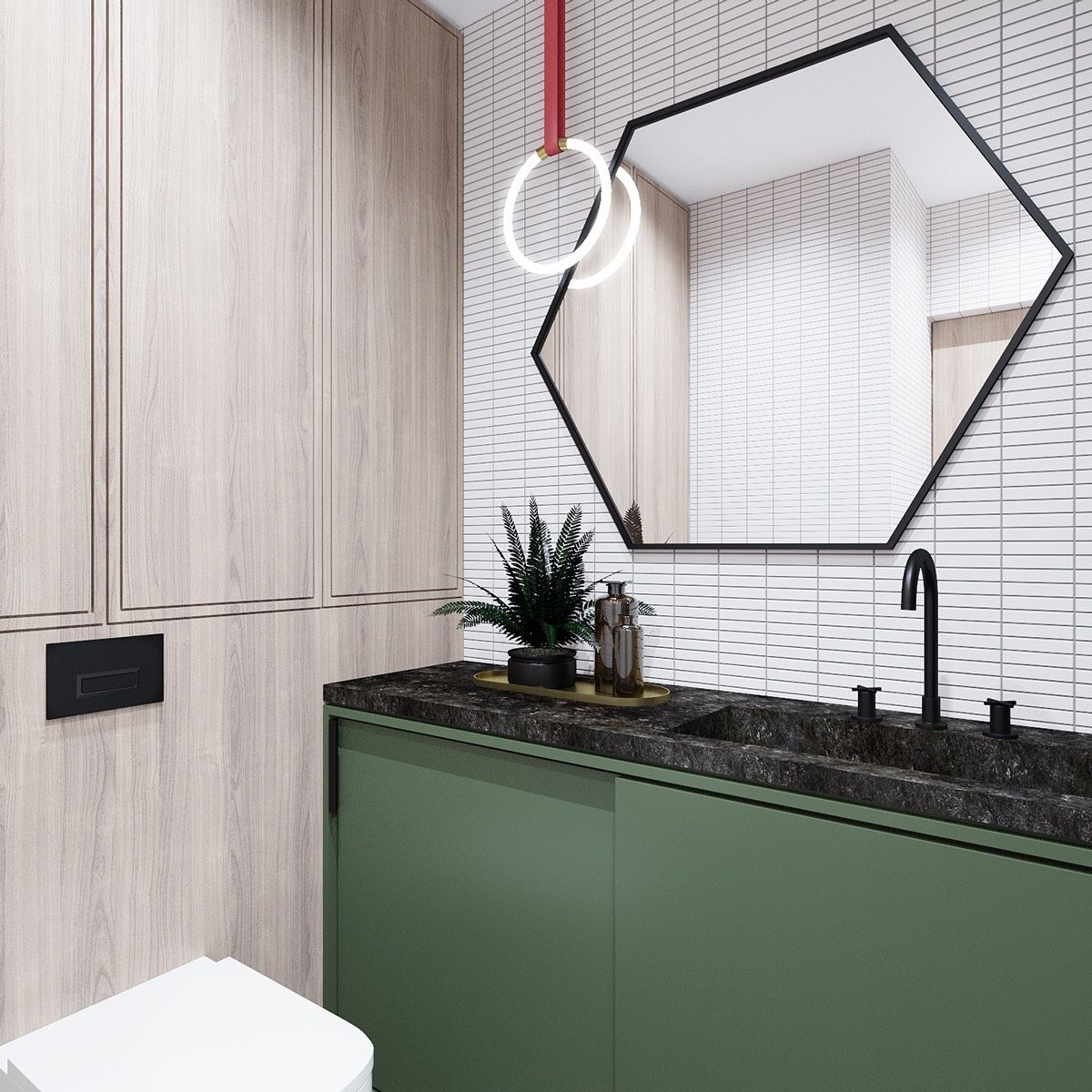 Small Apartment Design Under 600 Square Feet   Small bathroom ...
