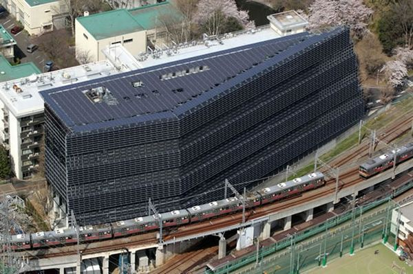 Best Solar Panels tokyo institute of technology unveils their new building totally
