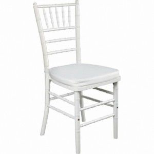 Cadeira Prada (Branca) - 0,40 x 0,40 x 0,98m (CxLxH)
