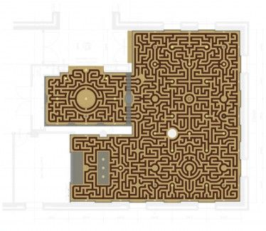 Labyrint Floor drawing