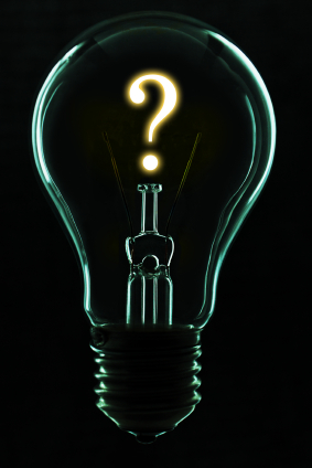 Do You Have An Idea You D Like To Act On Turn That Question Mark Into A Period Or Exclamation Mark Make This Or That Questions Question Mark Light Bulb Art