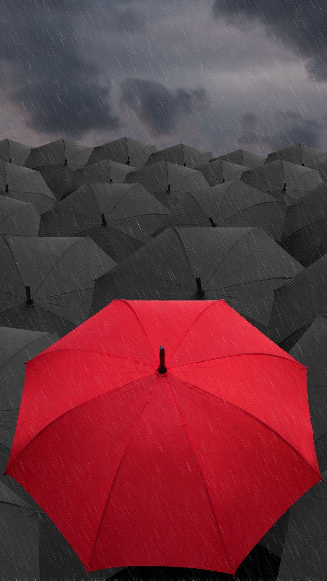 Rain Umbrella Hd Wallpaper Iphone Best Iphone Wallpaper Red Umbrella Hd Wallpaper Iphone Photography Wallpaper