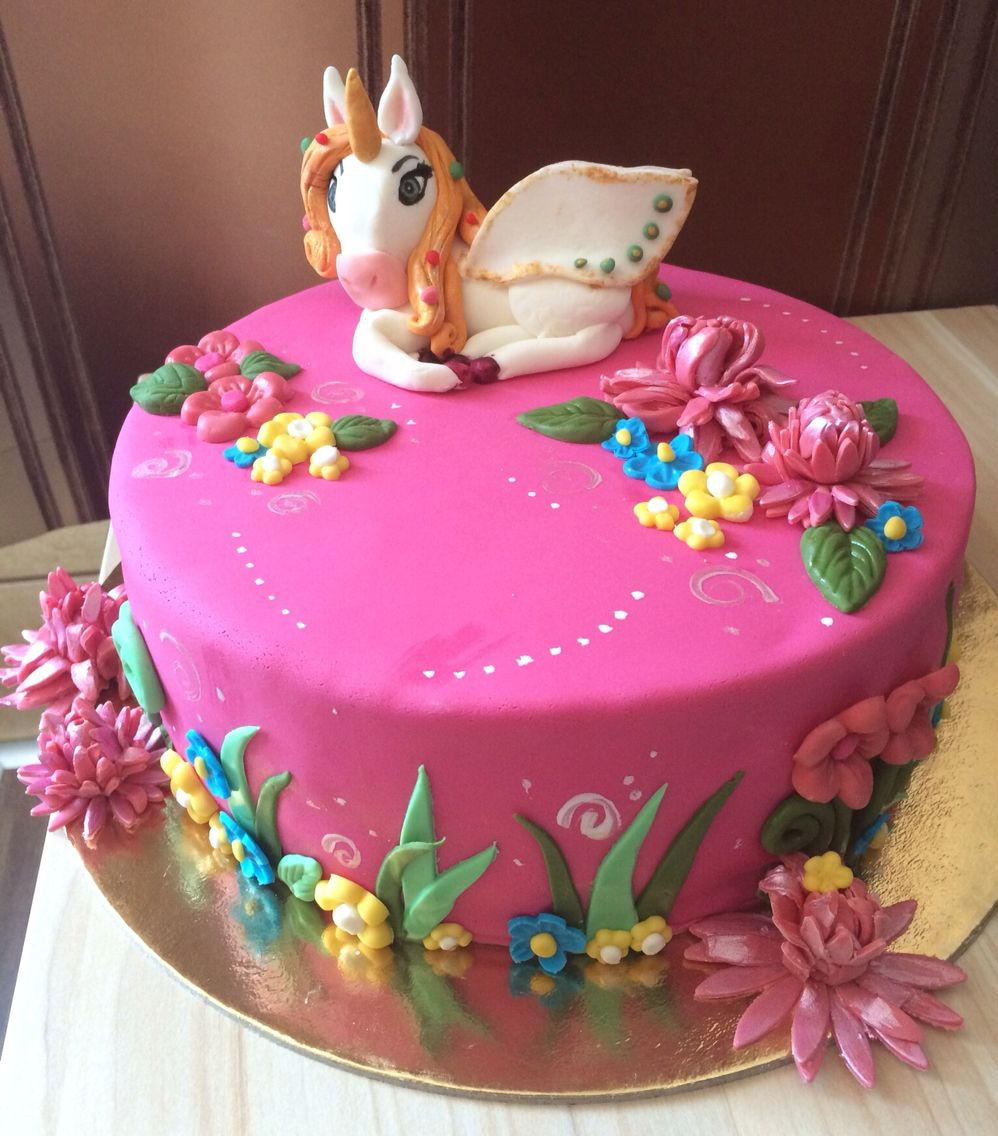 Mia and me unicorn cake Kids cake Pinterest Cake Birthdays