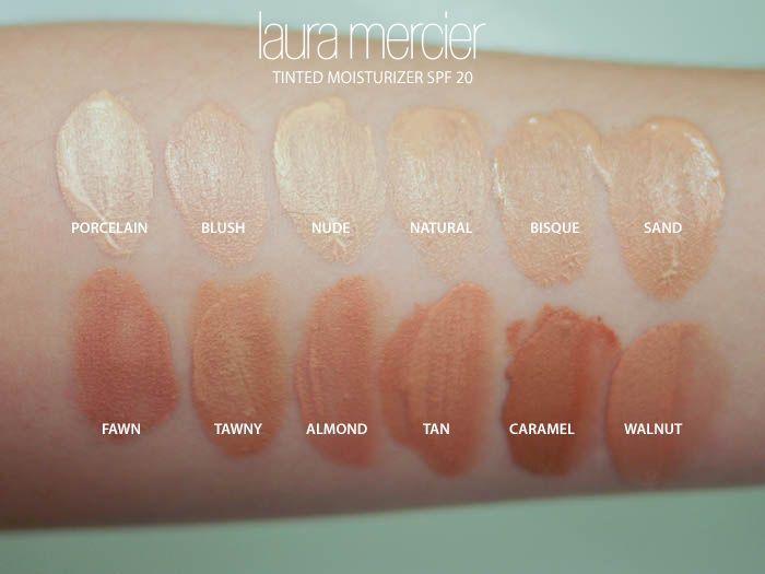 laura mercier tinted moisturizer oil free shades