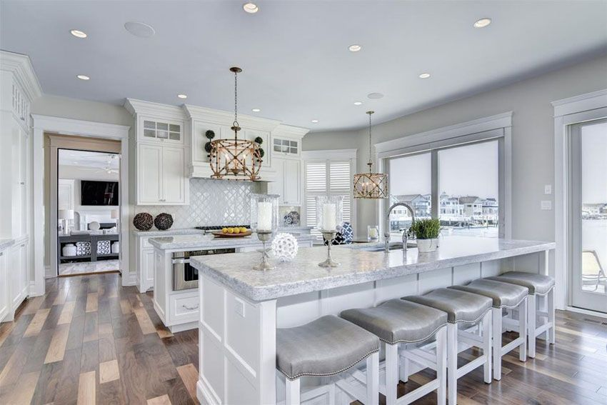 Large Open Plan Kitchen Dining Room