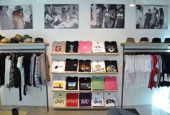 Stussy Seoul Store Design Interior Clothing Store Design Boutique Interior