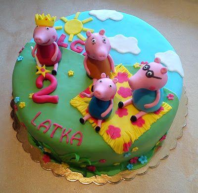 Bydgoszcz Swinka Peppa Cake Desserts Birthday Cake