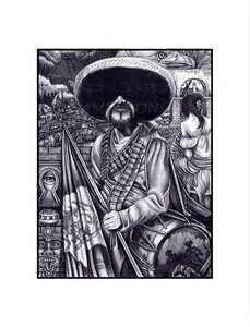 Mexican Revolution Tattoos : mexican, revolution, tattoos, Mexican, Revolution, Aztec, Chicano,, Chicano