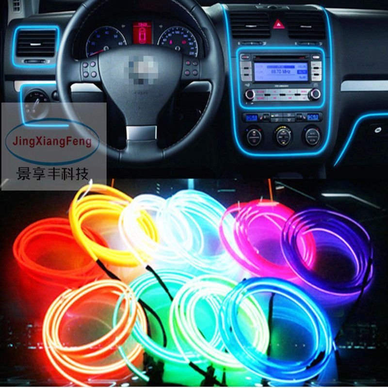 Car Led Light Decor Waterproof Sew Flexible Led Neon Strip 12v
