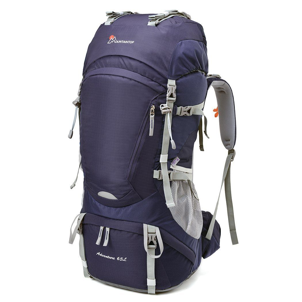 2c84d97894 ... Frame Backpack Water-resistant Hiking Backpack Backpacking Trekking Bag  for Climbing