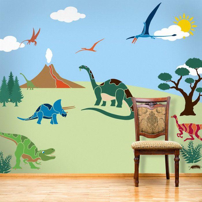 Kids Bedroom Stencils princess girls bedroom wall mural stencils kids bedroom ideas with