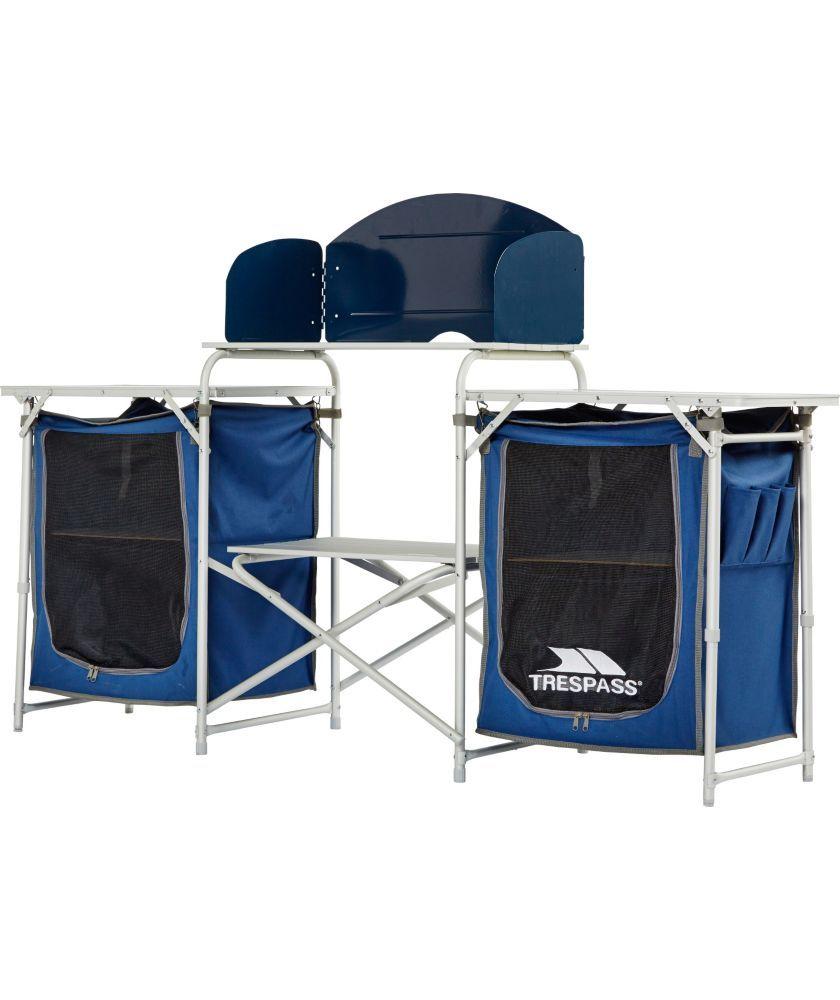 Buy Trespass Folding Camping Kitchen At Argoscouk