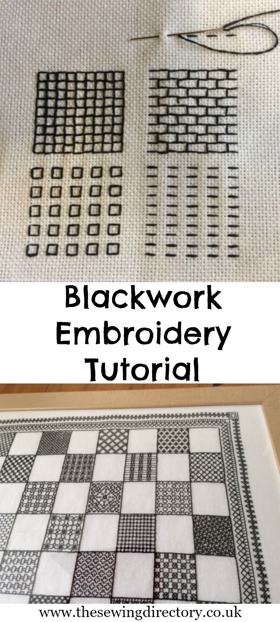 Blackwork embroidery tutorial part of our part hand embroidery