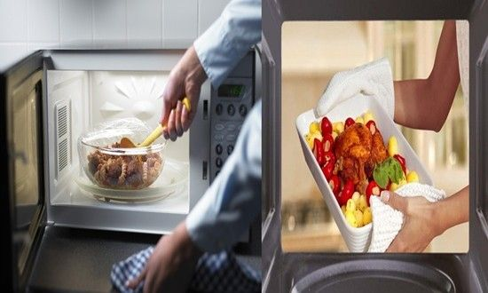 It sounds normal to store the food you've cooked and reheat it again once, twice or sometimes more. ...