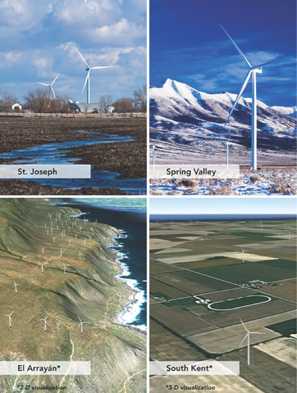 Independent Wind Power Company Pattern Energy Group Ipo We Are An
