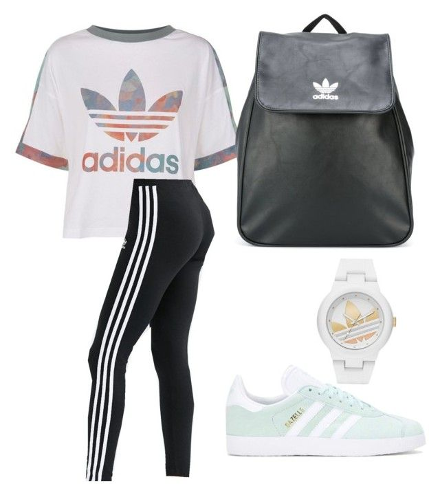 """Adidas"" by eriarai on Polyvore featuring adidas Originals and adidas"