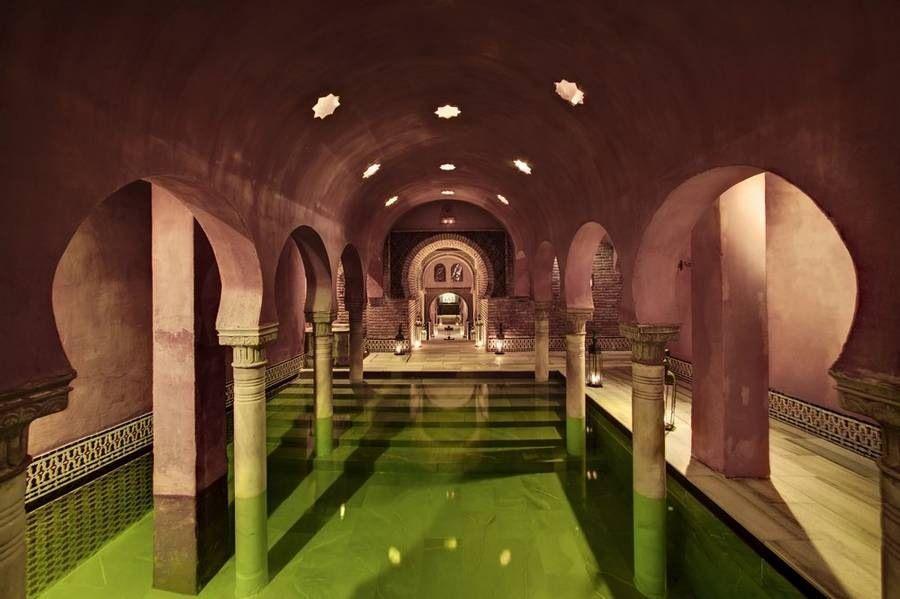 Hamam München hammam baños árabes granada sala templada harem interior