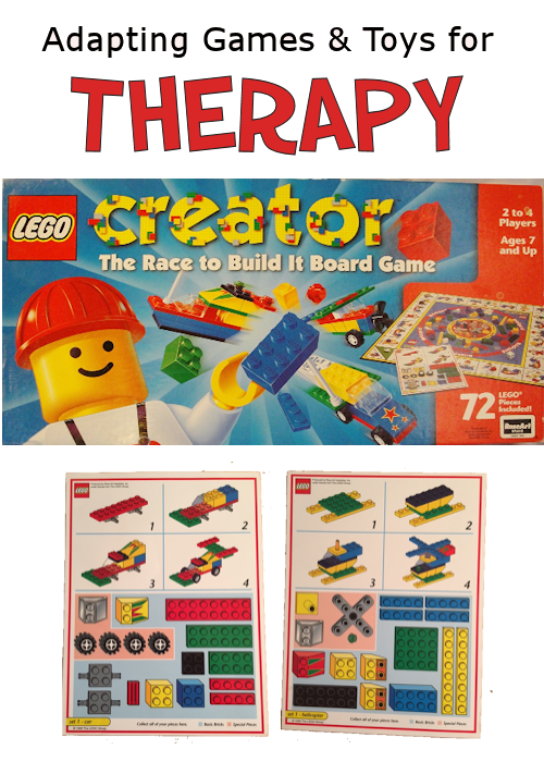 LEGO Creator The Race to Build It Board Game Card