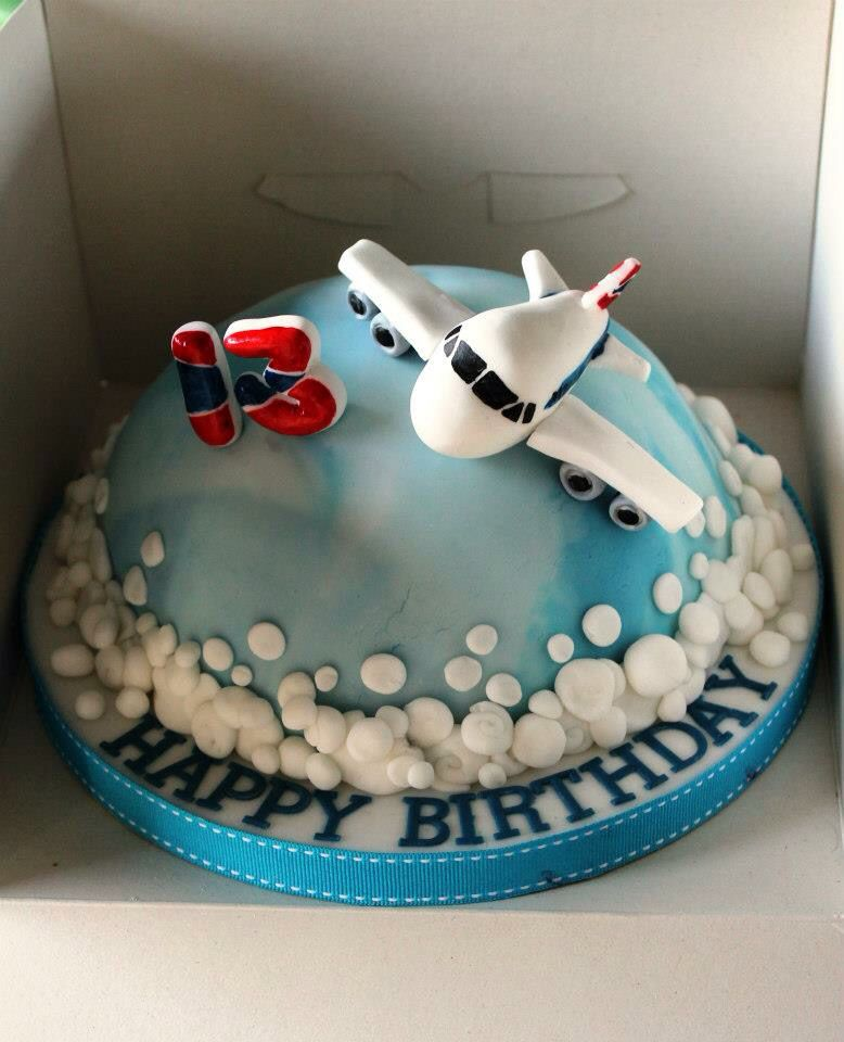 Pin by mais hammad on caking fondant pinterest cake for Airplane cake decoration