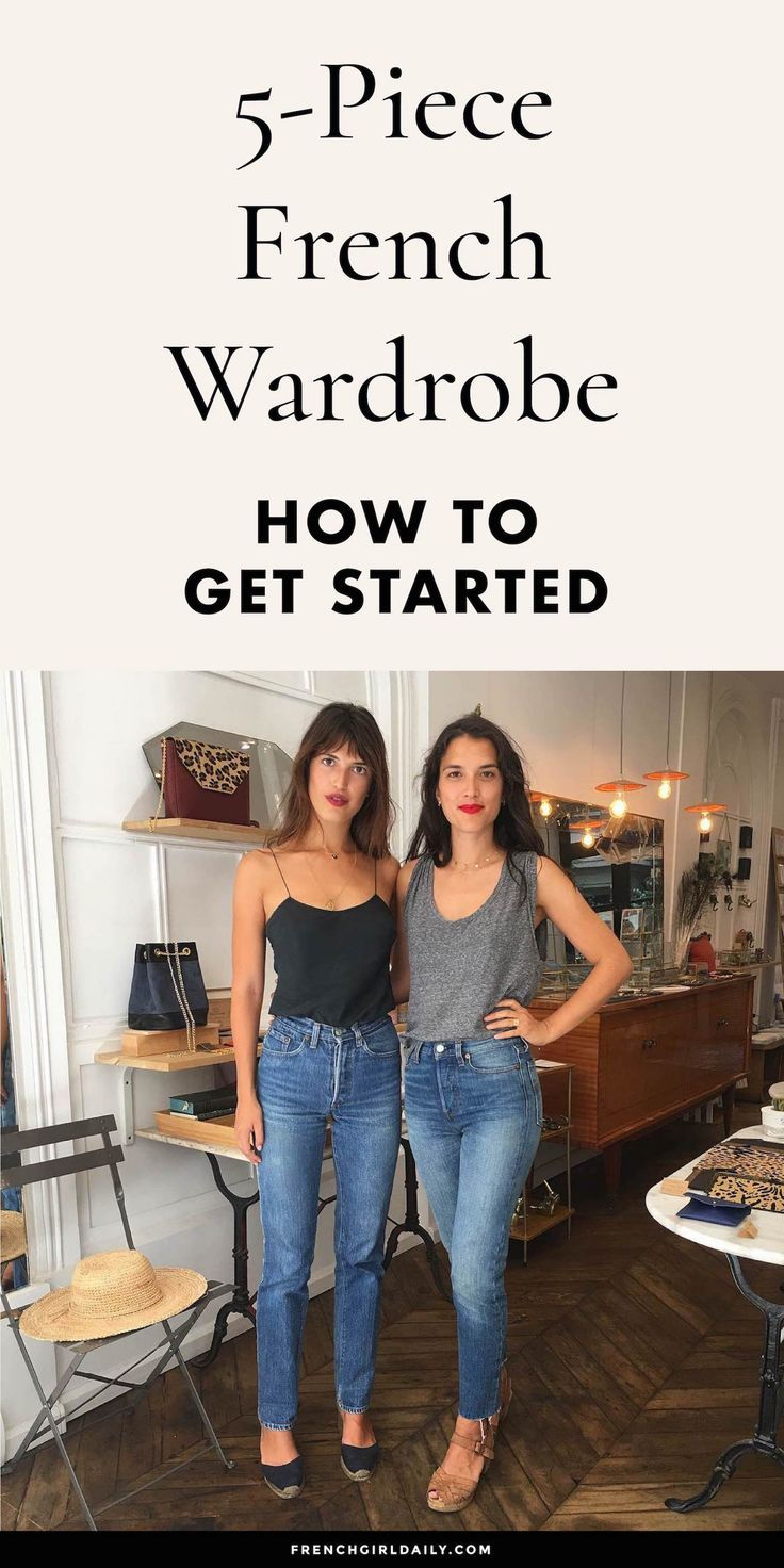 5 Piece French Wardrobe: How to Get Started