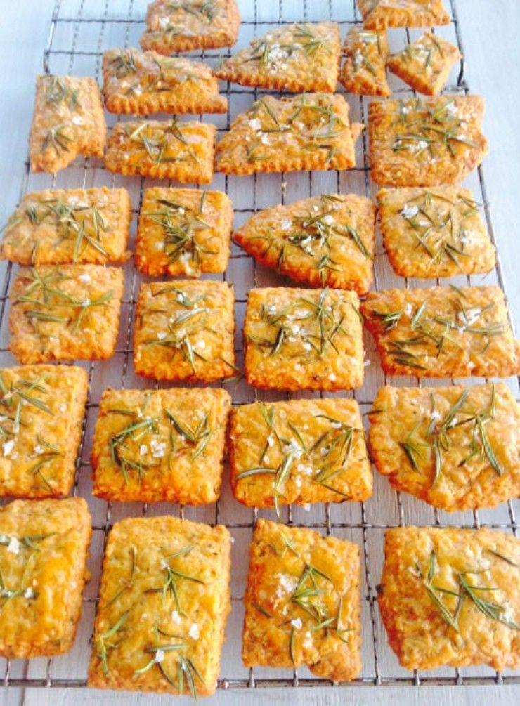 Parmesan, Rosemary and Caraway Seed Biscuits Ingredients