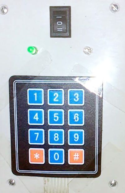 Keypad Lock With Servo Using ATtiny84 | Circuits | Keypad lock